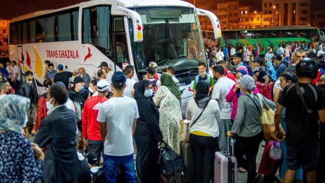 السلطات تشرع في تقنين التنقل خلال فترة عيد الفطر