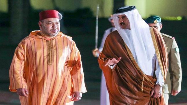 أمير قطر يثمن قرارات الملك بخصوص الوضع بالكركرات في اتصال هاتفي مع العاهل المغربي