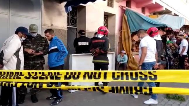 النيران تفشل في إخفاء معالم قتل شاب في حي اسباتة بالدار البيضاء