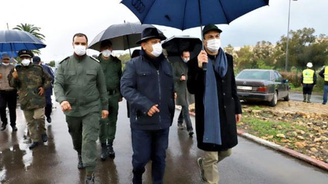 لجنة خاصة تخرج في زيارة ميدانية لمعاينة حجم الأضرار التي خلفتها فيضانات البيضاء