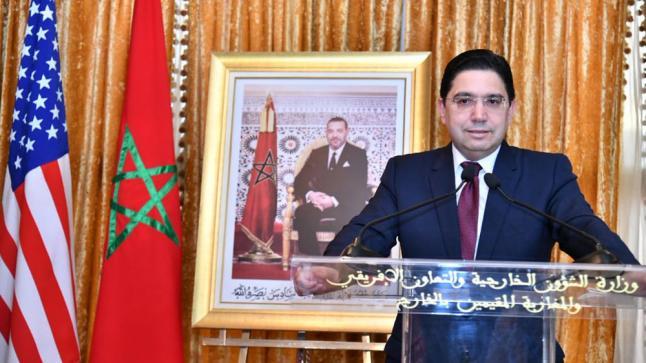 بوريطة يحذر من المخاطر الداخلية والخارجية التي تستهدف تقسيم البلدان العربية