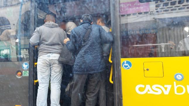 أزمة نقل حقيقية تعيشها ساكنة الدار البيضاء قبل الإفطار