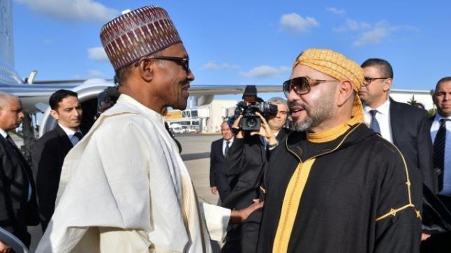 الرئيس النيجيري محمد بوهاري يقدم الشكر للملك محمد السادس