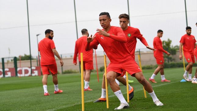 المغرب يواصله تداريبه قبل مواجهة المنتخب البوروندي
