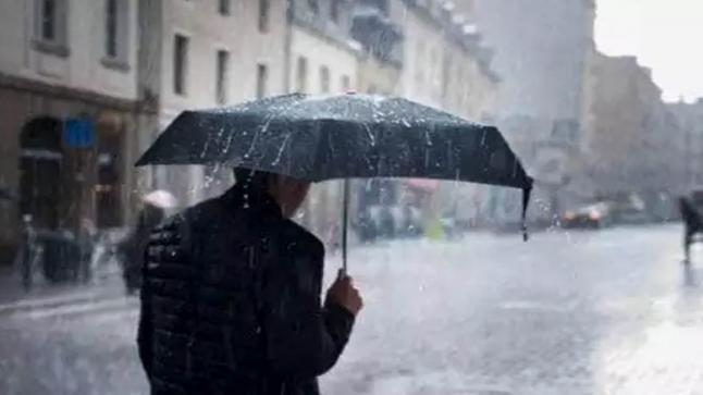 نشرة تحديرية أمطار رعدية وتساقطات غدا