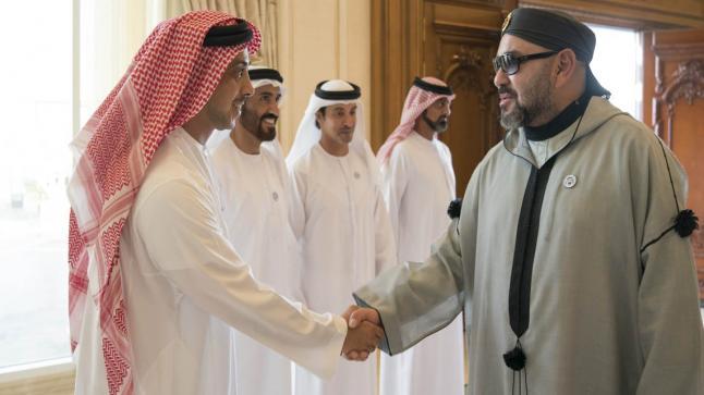 الملك يستقبل وزير الخارجية والتعاون الدولي الإماراتي بفاس