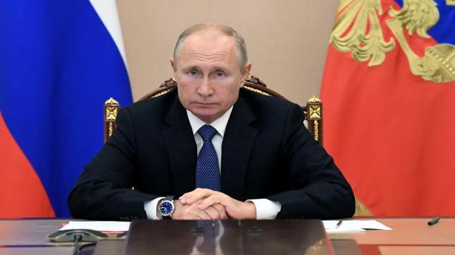 الكرملين الروسي يكشف رتبة الرئيس فلاديمير بوتين