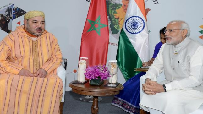الملك محمد السادس يرسل برقية لرئيس الهند