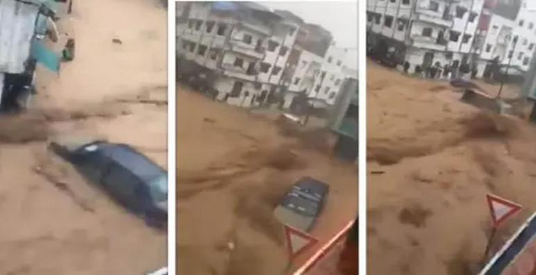 بسبب الفيضانات..تعليق الدراسة باقليم تطوان