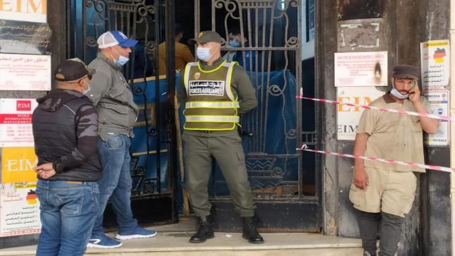 سقوط مصعد كهربائي يودي بحياة شخص داخل عمارة سكنية بشارع محمد الخامس
