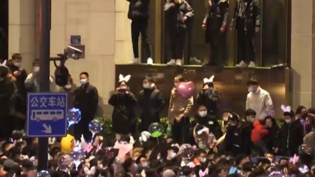 احتفالات برأس السنة الجديدة 2021 بمدينة ووهان الصينية