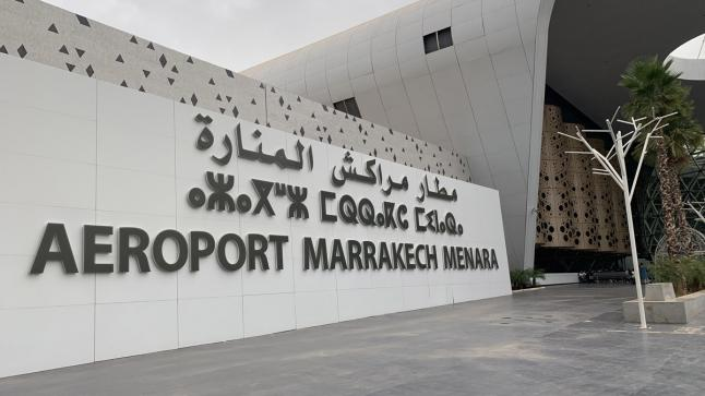 إجلاء سياح فرنسيين عبر رحلات استثنائية بمطار مراكش