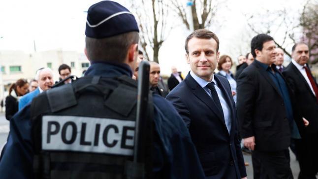 الرئيس الفرنسي يعلن الانتصار على فيروس كورونا