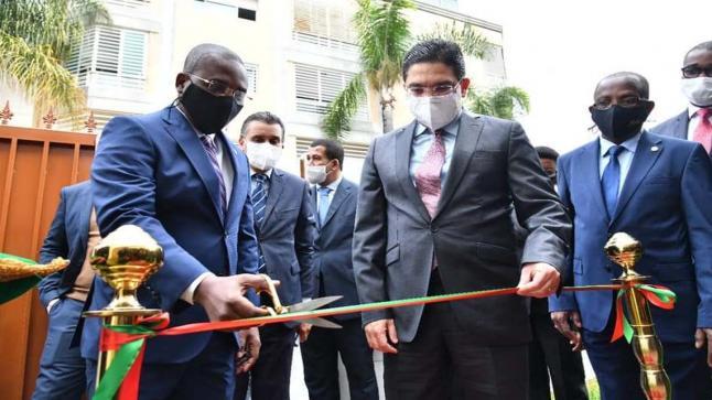 بوريطة و كلود جوزيف يدشنان سفارة جمهورية هايتي بالرباط