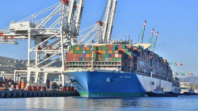 الرواج المينائي بلغ 31.3 مليون طن إلى غاية متم أبريل الماضي