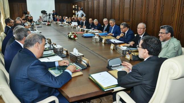 انعقاد مجلس الحكومة غدا الخميس برئاسة رئيس الحكومة