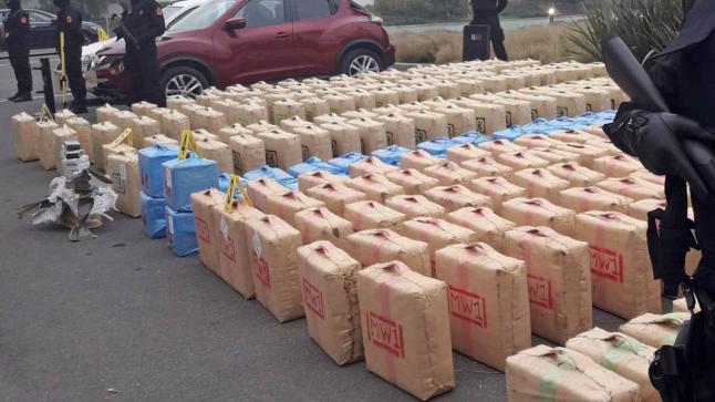 إحباط محاولة تهريب 745 كيلوغرام من المخدرات في ميناء طنجة