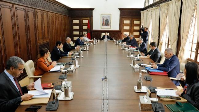 مجلس الحكومة يوافق على تأجيل أشغال اللجنة الوزارية بشأن مشروع القانون 22.20