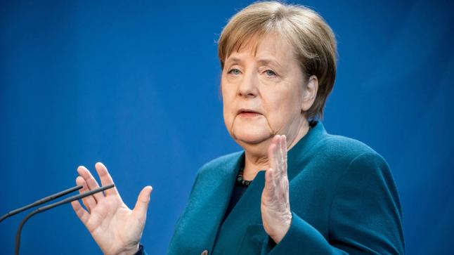 """المستشارة الألمانية """"ميركل"""" تتحدث عن مرحلة جديدة لإنتشار فيروس كورونا"""