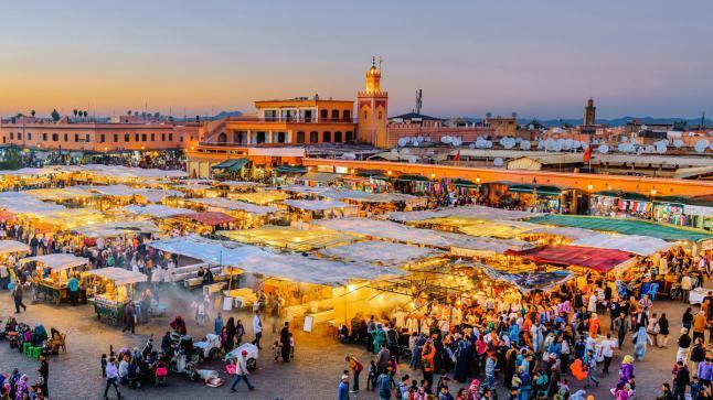 تصنيف مراكش ضمن أفضل 25 وجهة شعبية عالمية
