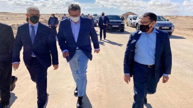 زعماء الأحزاب المغربية من الكركارات يوجهون رسالة في بيان مشترك