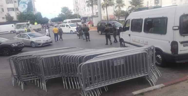 """تدابير احترازية بسبب ارتفاع عدد الإصابات بكورونا في """"أنفا-الدار البيضاء"""""""