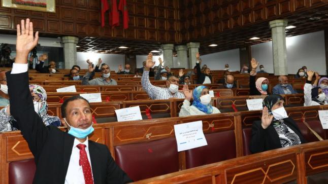 مجلس جماعة الدار البيضاء يصادق على على مشروع مزانية الجلسة الثانية من الدورة أكتوبر