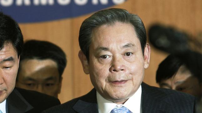 """وفاة رئيس سامسونغ """"لي كون-هي"""" عن عمر يناهز 78 عاما"""