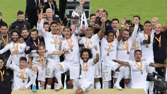 ريال مدريد بطلا للدوري الإسباني بعد الفوز على فياريال