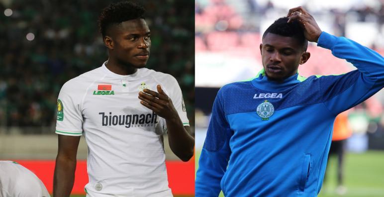 """في بلاغ رسمي الرجاء الرياضي يعلن نجاحه في إسترجاع """"مالانغو و نغوما"""""""