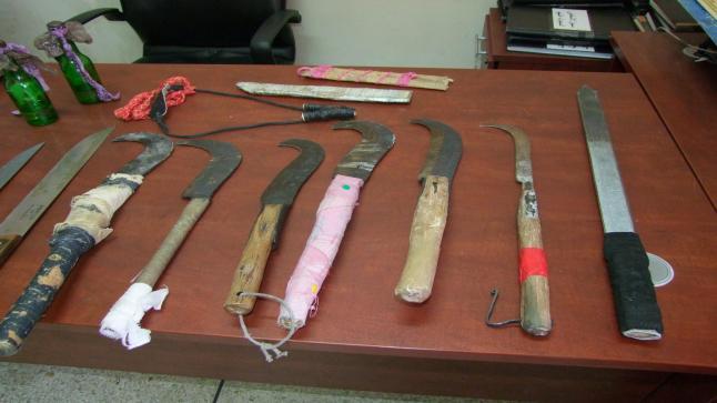 عبد النباوي يراسل الوكلاء العامين بخصوص جرائم حمل و استعمال الأسلحة البيضاء