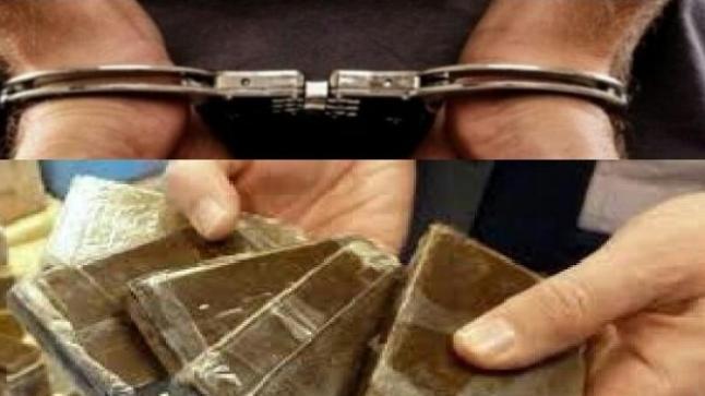 ضبط نصف طن من مخدر الشيرا بعرض ساحل القصر الصغير