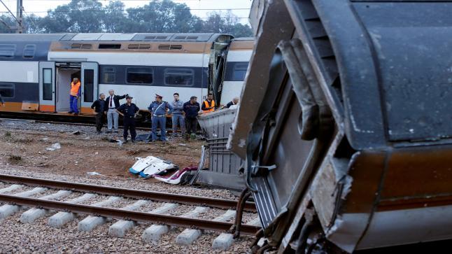 """ال """"ONCF"""" يكشف حقيقة خروج القطار عن السكة بين فاس ووجدة"""