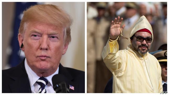 ترامب يمنح الملك محمد السادس وسام الاستحقاق برتبة قائد