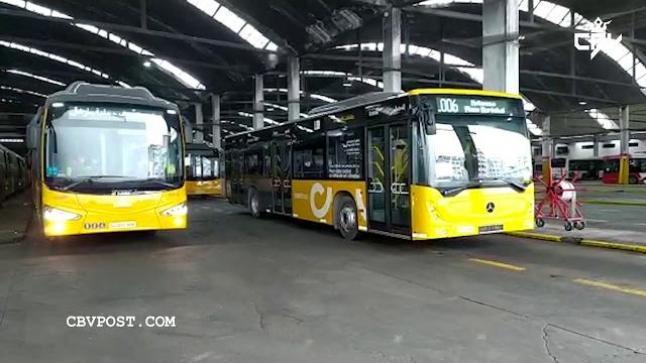 شاهد الحافلات الجديدة التي سيتم اعتمادها بمدينة بالدار البيضاء