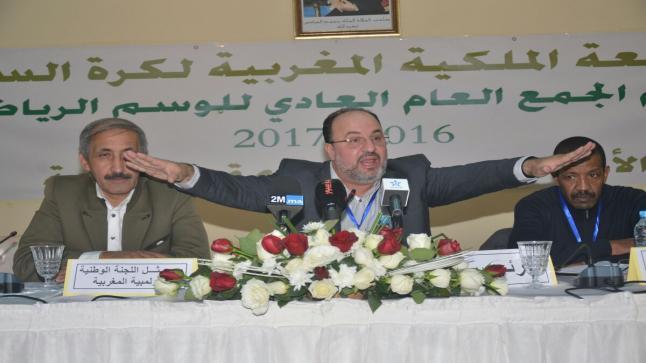مصطفى أوراش يحسم سباق رئاسة جامعة كرة السلة لصالحه