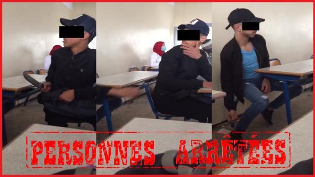 أمن الدار البيضاء يوقف ثلاث تلاميذ لحيازة السلاح الأبيض داخل فصل دراسي
