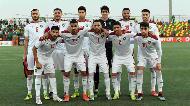 """المنتخب المغربي يتراجع إلى المركز 34 في تصنيف """"الفيفا"""""""