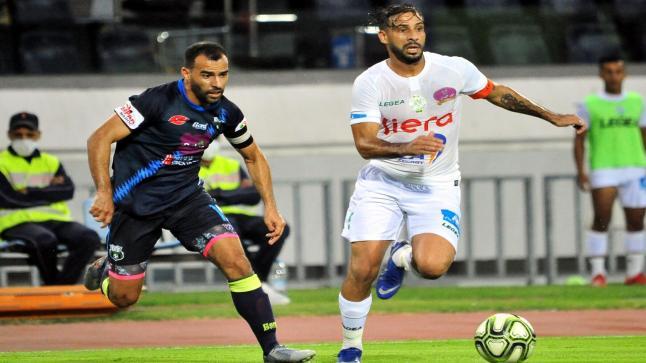 الرجاء الرياضي يحقق فوزا ثمينا على يوسفية برشيد ويقترب من صدارة الدوري المغربي