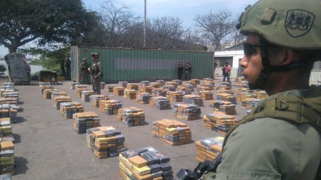 إحباط تهريب طن ونصف من الكوكايين إلى المغرب عبر كولومبيا