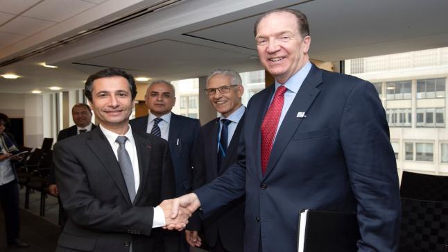 رئيس البنك الدولي: مستعدون لدعم جهود التنمية الاقتصادية والاجتماعية للمغرب