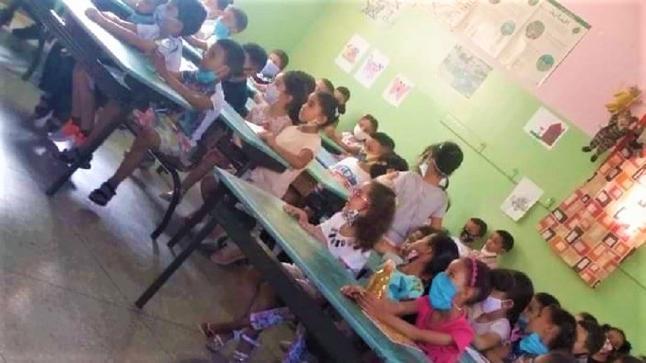 وزارة التعليم تكشف تفاصيل صورة الإكتظاظ في أول أيام الدخول المدرسي