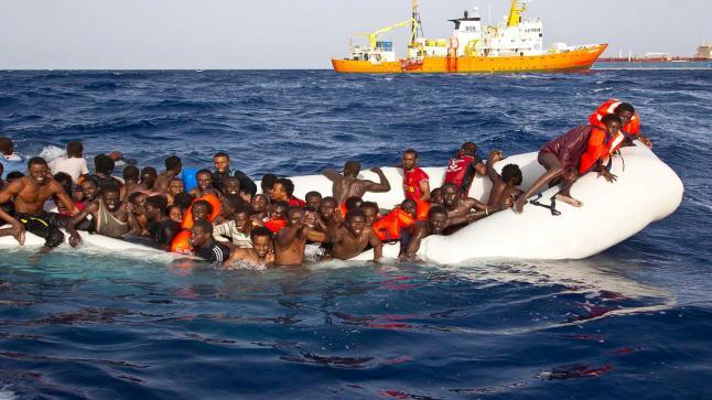 خفر السواحل المغربي يوقف 168 مرشحا للهجرة السرية
