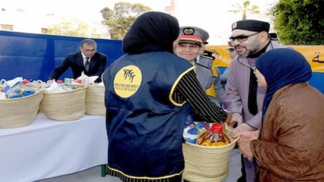 الملك يعطي تعليماته لانطلاق عملية توزيع الدعم الغذائي لرمضان